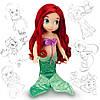 Лялька Аріель (Ariel) Disney Animators колекційна серія Дісней -40см.
