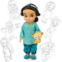 Лялька Жасмин (Jasmine) Disney Animators колекційна серія Дісней -40см., фото 1
