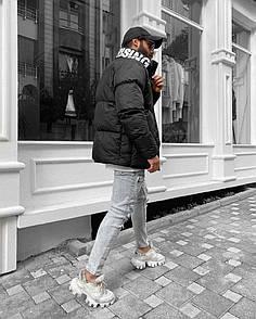 Чоловіча утеплена куртка, зима-осінь, Black