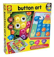 Мозаїка гудзики Alex Toys Little Hands Button Art, фото 1