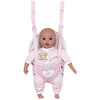 Велика лялька - пупс Адора Adora з рюкзаком - переноскою