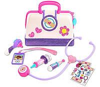 Набір доктора Плюшева Doc McStuffins Hospital Doctor's s Bag Set шпитальці, фото 1