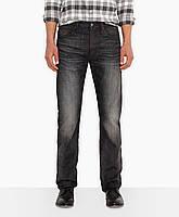Мужские джинсы Levis 501® Original Fit Jeans (Broken Black), фото 1