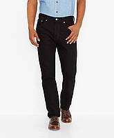 Мужские джинсы Levis 505™ Regular Fit Jeans (Black), фото 1