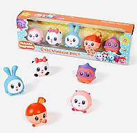 Набор игрушек для купания Смешарики Малышарики резиновые игрушки для купания с ВИДЕООБЗОРОМ!