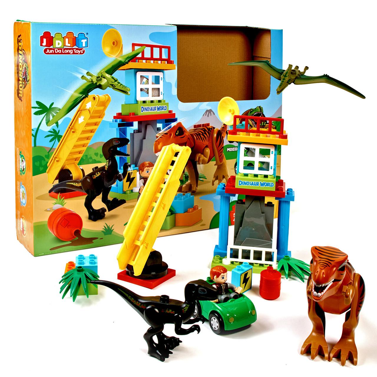 Дитячий блоковий конструктор Динозаври з Парку Юрського періоду JDLT.ZОО