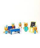 Ігровий набір фігурок Три кота в школі. Персонажі. Набір персонажів., фото 3