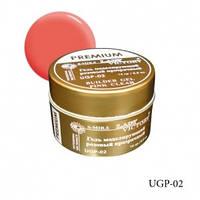 Био-гель Lady Victory Premium UGP-02 розовый прозрачный ,14 г