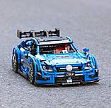 Дитячий конструктор на радіокеруванні спортивний автомобіль Mercedes Benz C63 1:8 на 1989 дет., фото 5