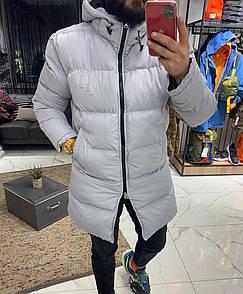 Чоловіча Куртка зимова (подовжена)