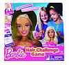 Манекен для причесок Barbie Hair Challenge Board Game