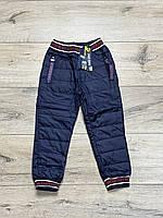 Утепленные спортивные штаны- плащевка. 1- год.