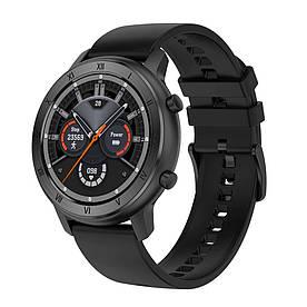 Розумні годинник NO.1 DT89 Silicon з тонометром і пульсоксиметром (Чорний)