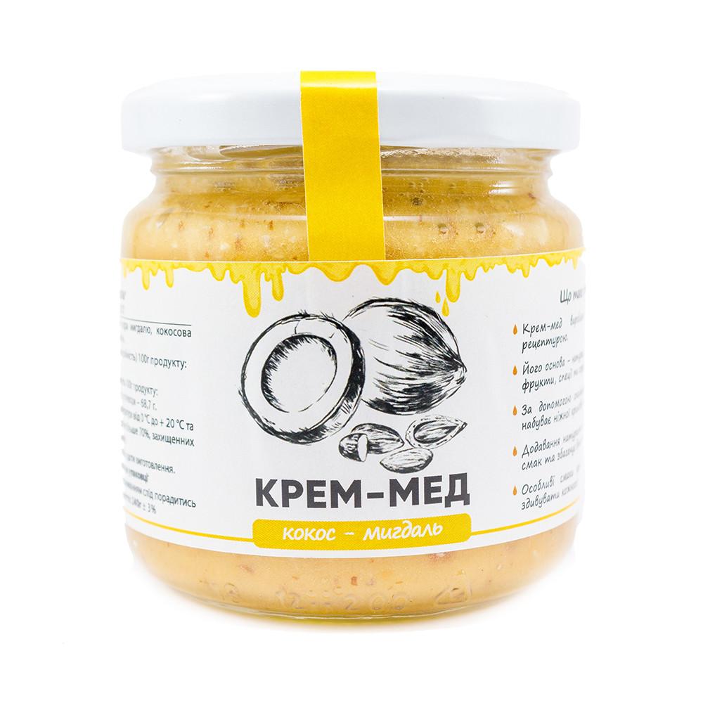 "Мед-крем ""Кокос-миндаль"" 240г"