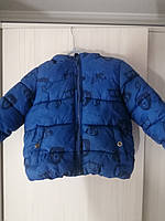 Детская демисезонная куртка на флисовой подкладе для мальчика, фото 1