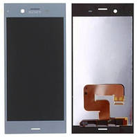 Дисплей Sony G8341 Xperia XZ1/G8342 Xperia XZ1 Dual with touchscreen blue
