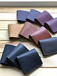 Женский кожаный кошелек Skye (Ручная работа), фото 3