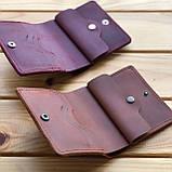 Женский кожаный кошелек Skye (Ручная работа), фото 4
