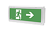 Аварійний світлодіодний світильник EXIT ETE/1W/C/1/SA/X/WH 1h IP 65 ЅА (2 режими), AWEX