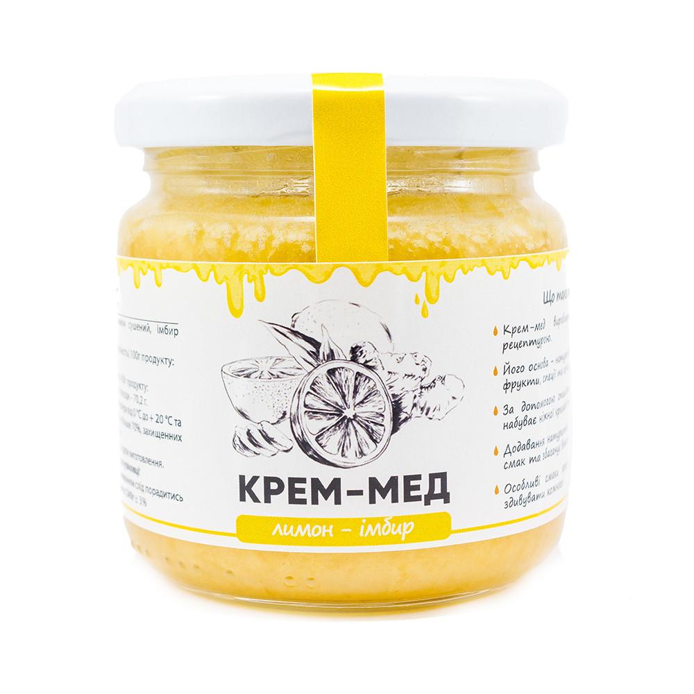 "Мед-крем ""Лимон-имбирь"" 240г"