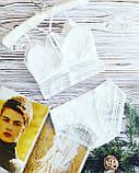 К3031 Жіночий комплект білизни Топ з трусиками різні кольори, фото 2