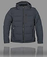 Зимняя мужская куртка King Wind 5742 Тёмно-синяя