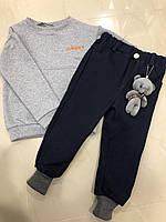 Детские утепленные  джинсы внизу на широких манжетах  (на рост 92-98 см)