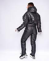 Женский Черный Зимний Лыжный Спортивный костюм р.С,М,Л, фото 1