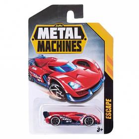 Машинка metal machines – cars червона (фіолетова, синя, біла, сіра, жовта, зелена) (6708)