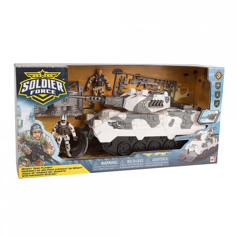 Ігровий набір військовий солдати desert tank танк chap mei (545058)