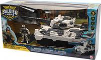 Ігровий набір військовий солдати desert tank танк chap mei (545058), фото 3