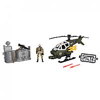 Игровой набор солдаты helicopter swift attax chap mei (545008), фото 2