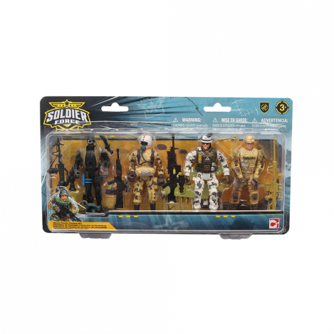 Ігровий набір chap mei солдати squad patrol (545003)