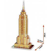 Тривимірна головоломка-конструктор Емпайр стейт білдінг серія міні cubicfun (Пізанська вежа) (S3003h), фото 3
