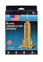 Тривимірна головоломка-конструктор Емпайр стейт білдінг серія міні cubicfun (Пізанська вежа) (S3003h), фото 6
