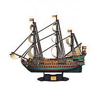 Трехмерная головоломка-конструктор испанская армада сан флипе cubicfun (T4017h), фото 3
