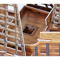 Тривимірна головоломка-конструктор корабель санта марія cubicfun (T4008h), фото 5