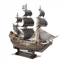 Тривимірна головоломка-конструктор корабель помста королеви Анни СubicFun (T4005h), фото 2