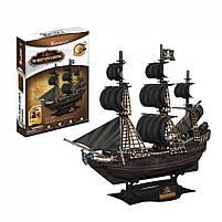 Тривимірна головоломка-конструктор корабель помста королеви Анни СubicFun (T4005h), фото 3