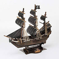 Тривимірна головоломка-конструктор корабель помста королеви Анни СubicFun (T4005h), фото 7