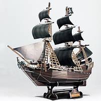 Тривимірна головоломка-конструктор корабель помста королеви Анни серія міні cubicfun (S3031h), фото 2
