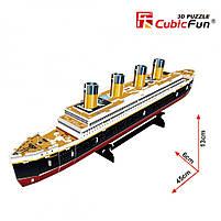 Тривимірна головоломка-конструктор Титанік CubicFun (T4012h), фото 2