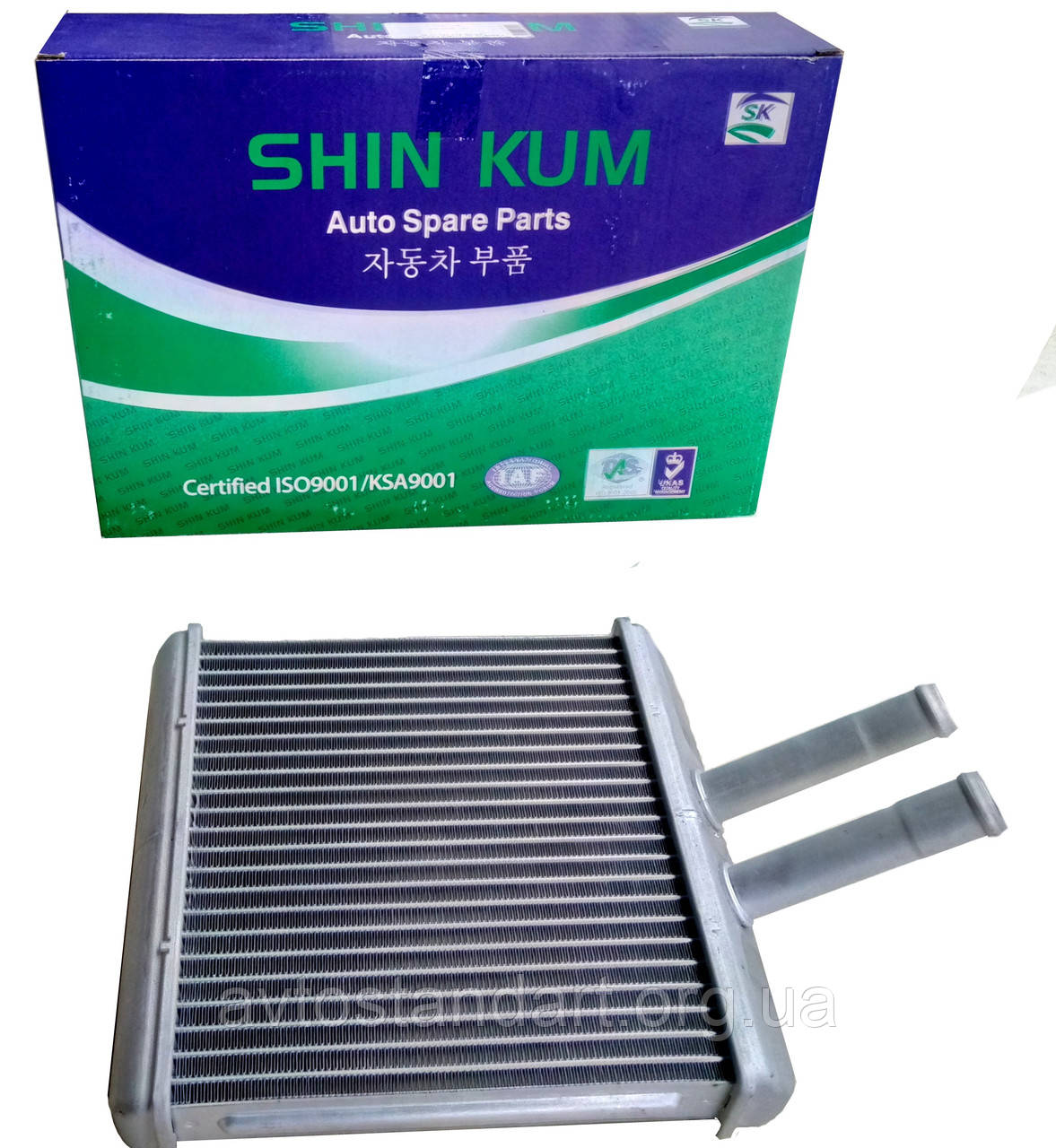 Радиатор отопителя салона Сенс Shin Kum (Корея)