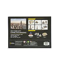 Тривимірна головоломка-конструктор National Geographic Емпайр Стейт Білдінг CubicFun (DS0977h), фото 6