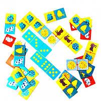 Гра дитяче доміно кольору тварин Djeco (DJ08111), фото 4