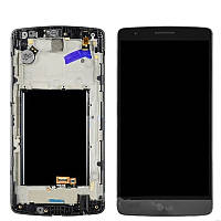 Дисплей LG G3s D724 with touchscreen and frame grey orig