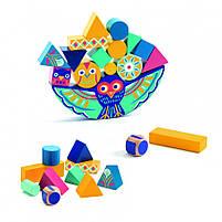 Набір дерев'яних геометричних фігур гра балансир ze balanceo djeco (DJ06433), фото 2