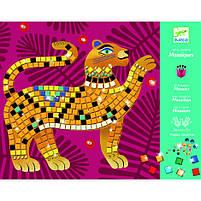 Набір для творчості - мозаїка глибоко в джунглях djeco (DJ09422), фото 4