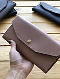 Женский кожаный кошелек Grase (Ручная работа), фото 2
