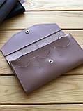Женский кожаный кошелек Grase (Ручная работа), фото 3